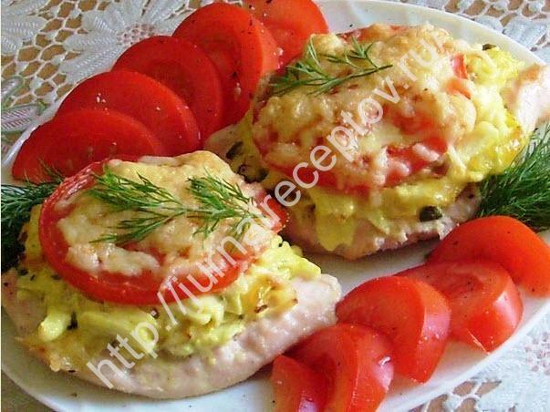 мясо в духовке рецепт фото