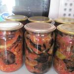 салат из баклажан фото