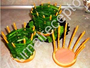 салат Корзина рецепт с фото