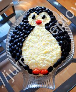 Салат Пингвиненок рецепт
