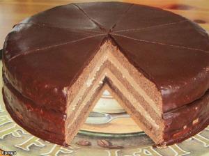 Торт «Прага» рецепт с фото