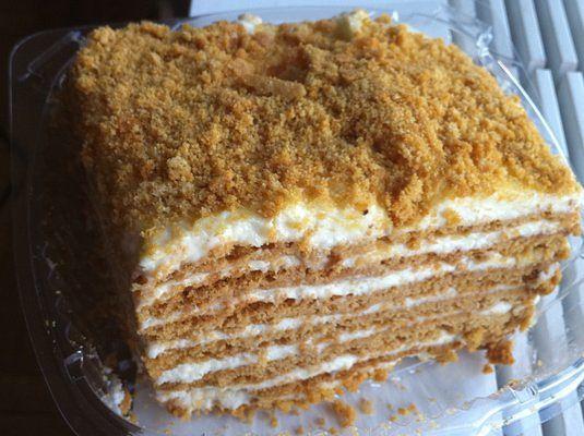Простой сметанный торт рецепт пошагово