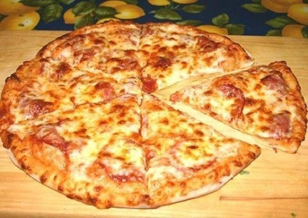 Пицца очень быстрая фото