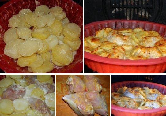 Картошка В Молоке