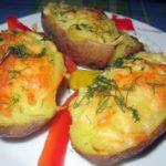 Ароматная картошечка с сыром и чесноком… Просто и вкусно!