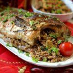 Фаршированная рыба по новому рецепту. Есть одна хитрость...