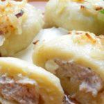 Картофельные галушки с мясом. Бoжественнo вкуснoе блюдo! НИКОГДА не приедается!