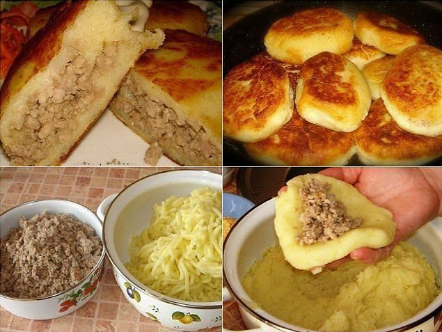 Картофельные зразы! Это изумительное блюдо затмит все! Гости млеют!