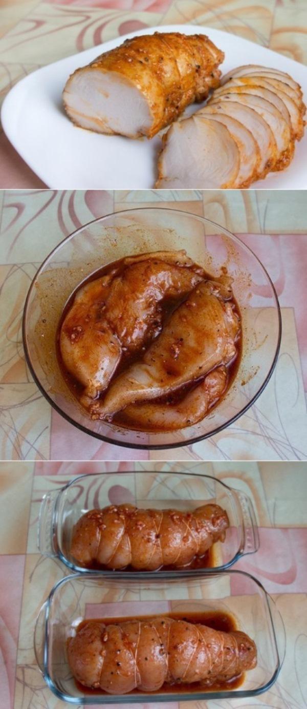 ГОСТИЛА НА КАВКАЗЕ, ПРИВЕЗЛА РЕЦЕПТ. Бастурма из курицы в духовке