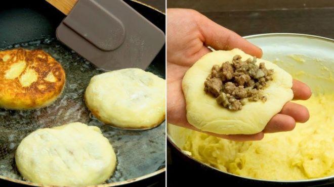 Картофельные котлеты с сюрпризом станут настоящим хитом на любом праздничном столе.