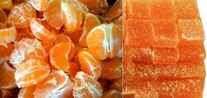 Лучшее угощение для детей — Мандариновый мармелад