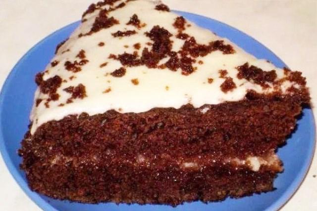 Торт «Черный принц» по-домашнему - мой коронный. Подруги выпросили рецепт. Шикарно смотрится на столе. А вкусный... не передать.