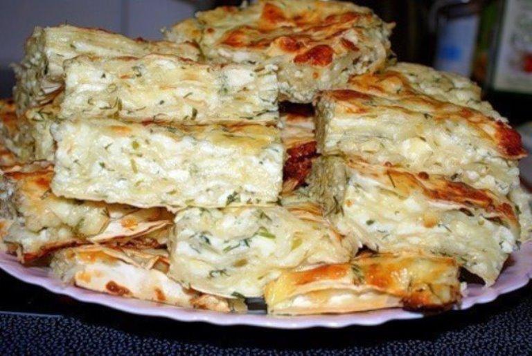 Привет из Грузии. Невероятно вкусная «ленивая» ачма - вкусный ужин для всей семьи на скорую руку