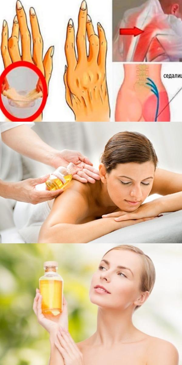 Этот масло избавит от артрита, радикулита и ещё 50 болезней лучше, чем аптечные лекарства!