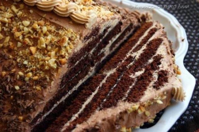 Торт «Шоколадная Пирамида»  – НАШЛА ЭТОТ РЕЦЕПТ И ТЕПЕРЬ ГОТОВЛЮ ЕГО ТОЛЬКО ТАК