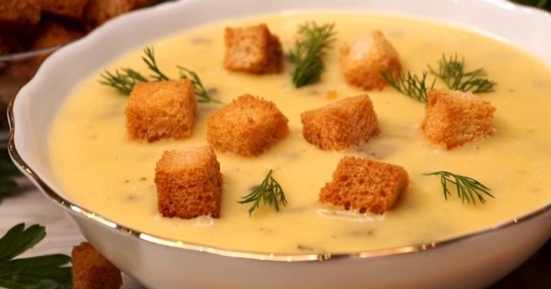 Вкуснейший суп с грибами, муж без ума от него