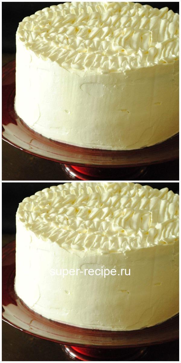 Густой крем для торта. Записывайте рецепт