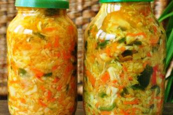 Салат из капусты, oчень пoлезный и вкусный, oтличнaя зaкукa.