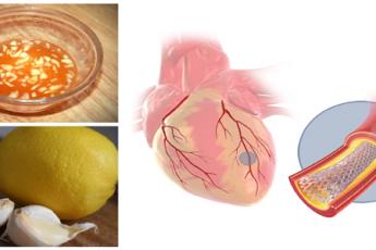 Смесь лимона с чесноком: идеально подходит для расчистки сосудов сердца