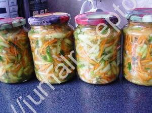 огурцы с морковкой по-корейски фото