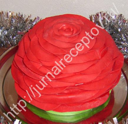 торт Цветок фото