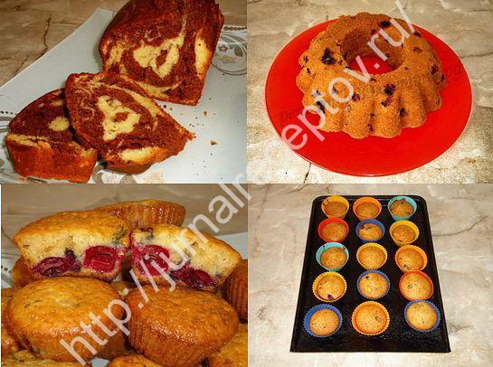тесто для кексов фото