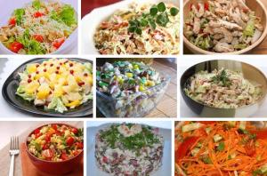 9 салатов на каждый день фото