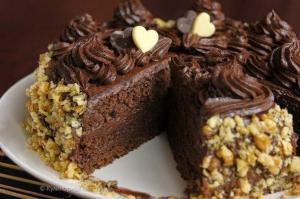Шоколадный торт по ГОСТу фото