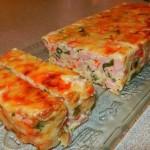 Ветчинно-кабачковый кекс