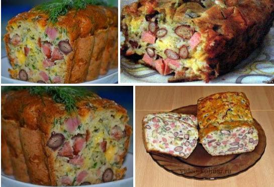 Мясной кекс