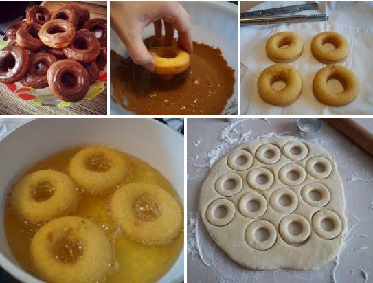 пончики без дрожжей