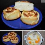 Воздушные сырники в духовке