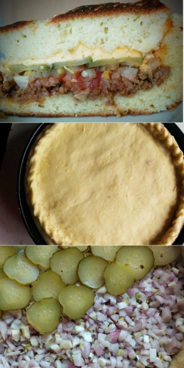 Пирог Чизбургер