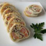 Кальмар, фаршированный омлетом и грибами: полезный перекус или лёгкий ужин
