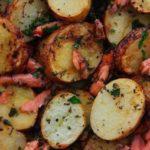 Картошечка с красной рыбкой