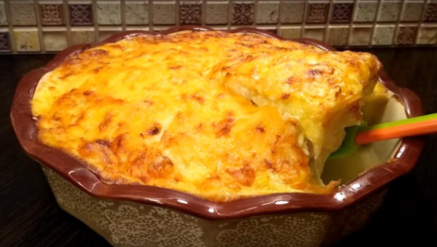 Запеканка «Семейное счастье» - рекомендуем сразу печь две порции, так как ее мгновенно сметут со стола!