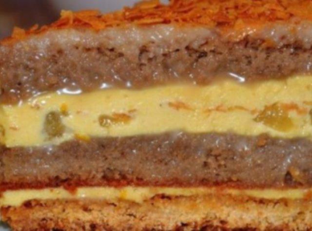 Великолепный карамельный торт.Вы влюбитесь в него с первой ложки.