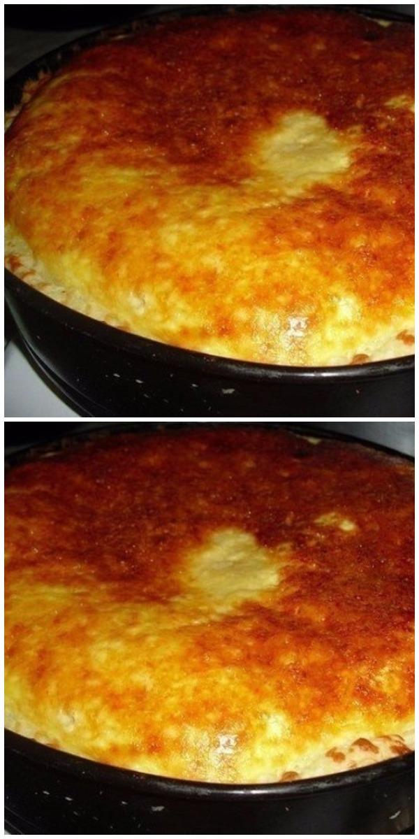 Рецепт для всех, кому нельзя жареного. Когда мясо поднадоело…. Пирог луковый со сметанной заливкой