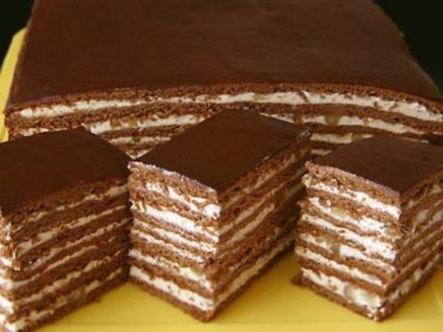 Торт «Проще простого» – хочется съесть весь, до чего же вкусный.