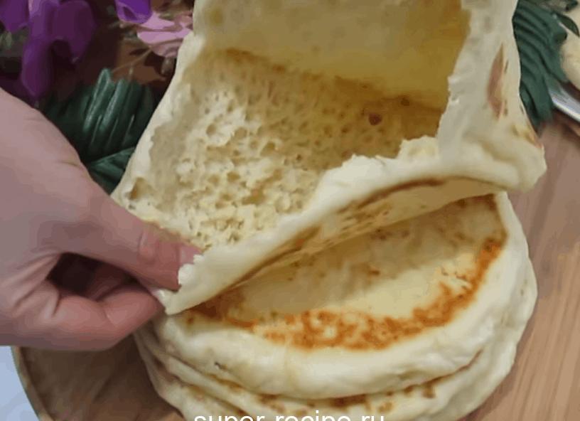 Мягкие, пышные, эластичные и неимоверно вкусные лепешки