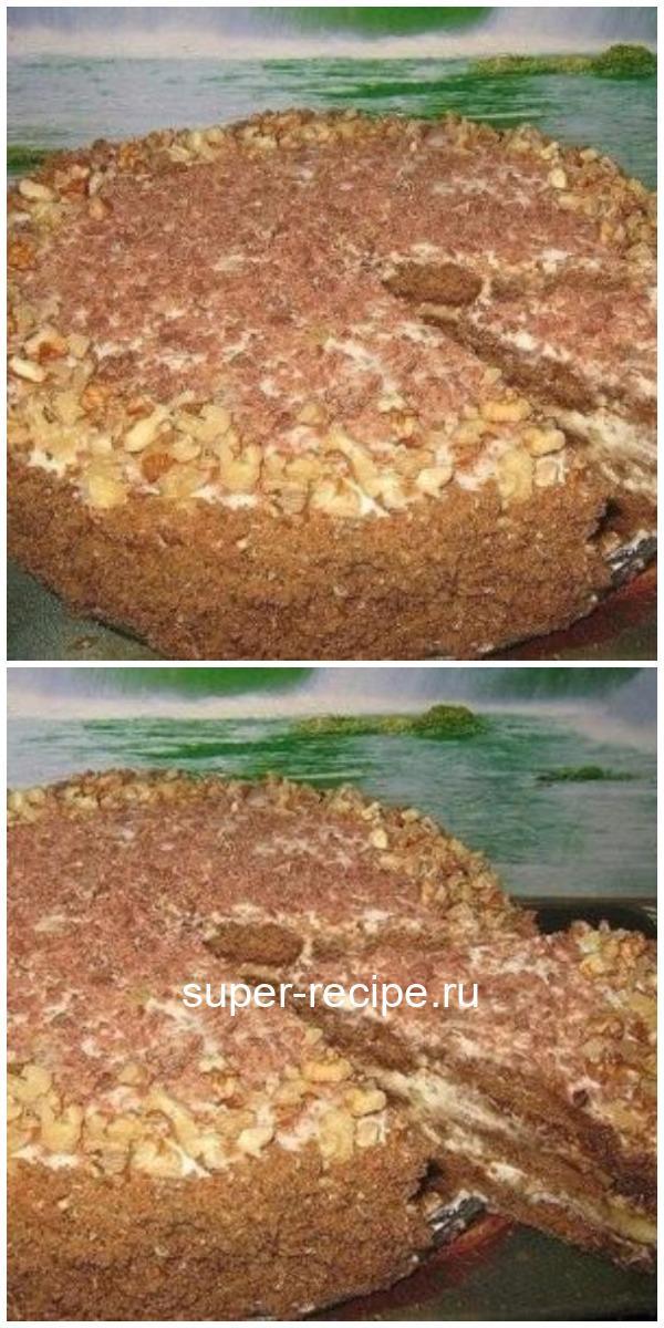 Люблю рецепты без заморочек. На этот вкуснейший торт без выпечки потратила 40 минут. Рецепт - находка.