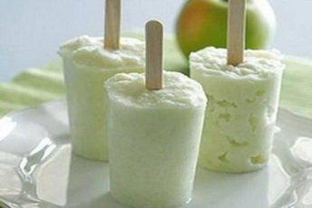 Сорбет из яблок — легкий, диетический и удивительно вкусный десерт!